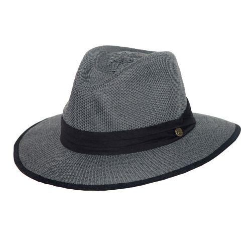 Rigon---UV-fedorahoed-voor-heren---Mandalay---Grijs