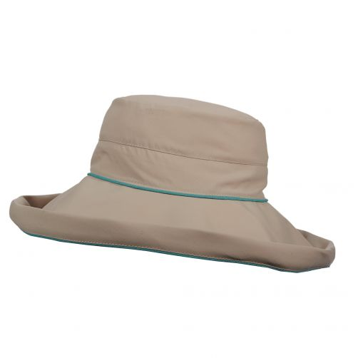 Stetson---UV-anti-muggen-hoed-voor-dames---Blauw