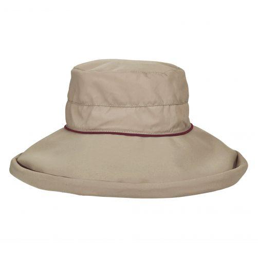 Stetson---UV-anti-muggen-hoed-voor-dames---Paars