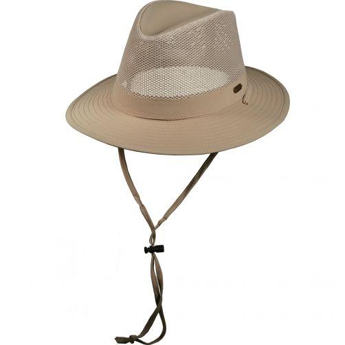 Stetson---UV-anti-muggen-hoed-voor-heren---Kaki