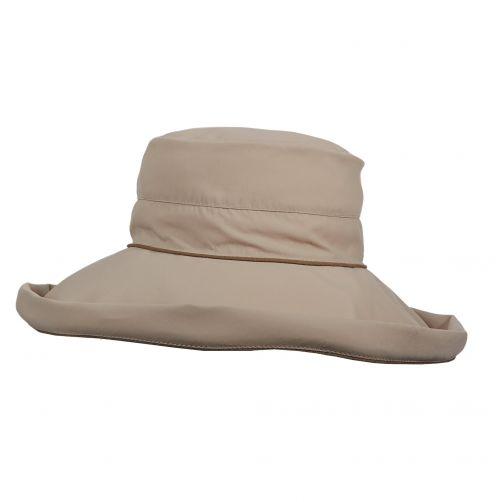 Stetson---UV-anti-muggen-hoed-voor-dames---Bruin