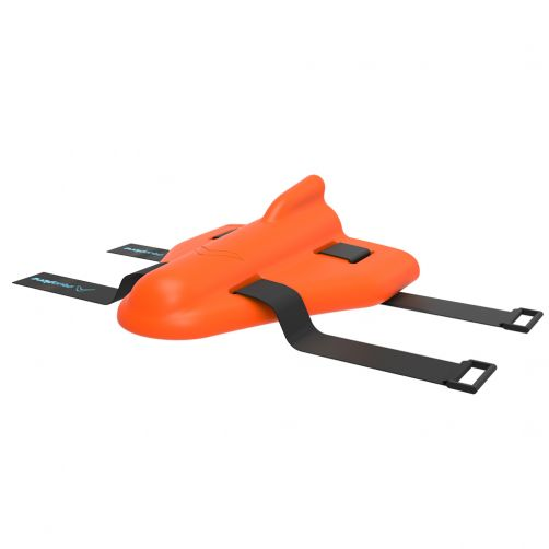 Aquaplane---Verstelbaar-drijfhulpmiddel-voor-kinderen-van-3+-jaar---Orange-Sunburst