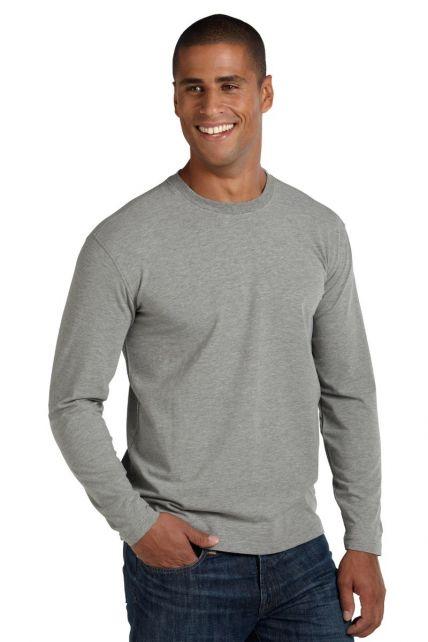 Coolibar---UV-Shirt-voor-heren---Longsleeve---Morada---Grijs