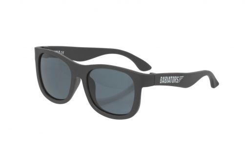Babiators - UV-zonnebril peuter - Navigators - Black Ops zwart - Voorzijde