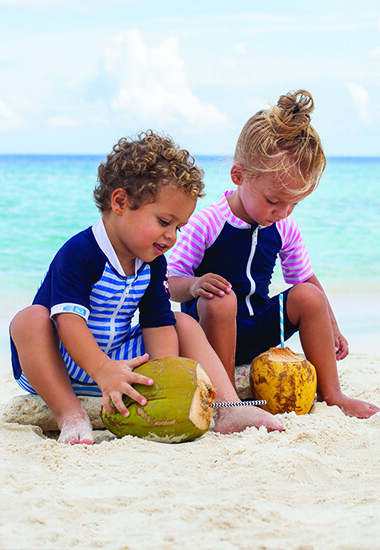 Baby gerecyclede UV-beschermende zwemkleding
