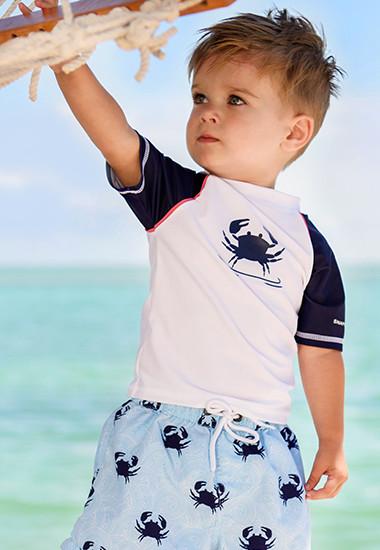 Baby's uv zwemshirts