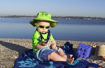 Babybanz zonnebrillen voor jongens en meisjes