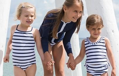 Petit crabe uv-zwemkleding voor jongens en meisjes
