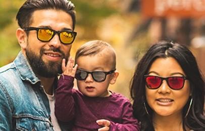 Real Kids Shades zonnebrillen voor volwassenen